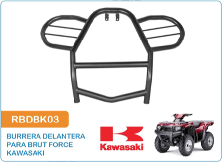 Burrera Delantera para Brut Force Kawasaki