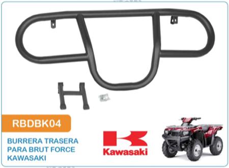 Burrera Trasera para Brut Force Kawasaki