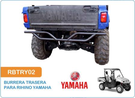 Burrera Trasera para Rihino Yamaha