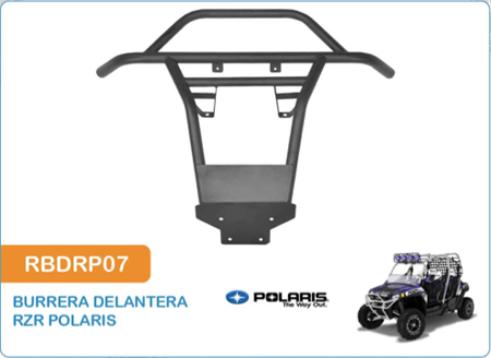 Burrera Delantera para RZR Polaris